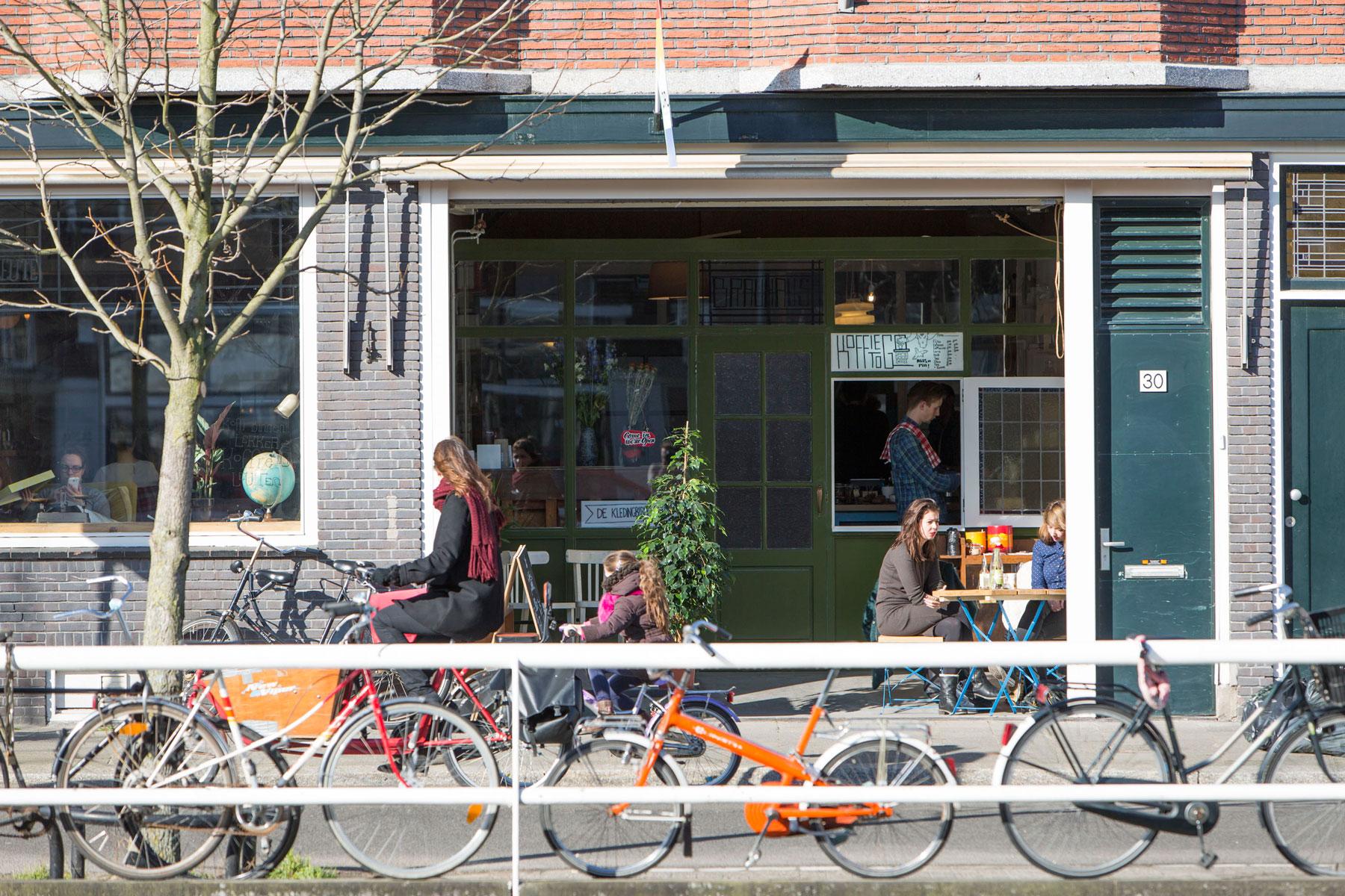 Voorkant van creatieve broedplaats Druk in Utrecht