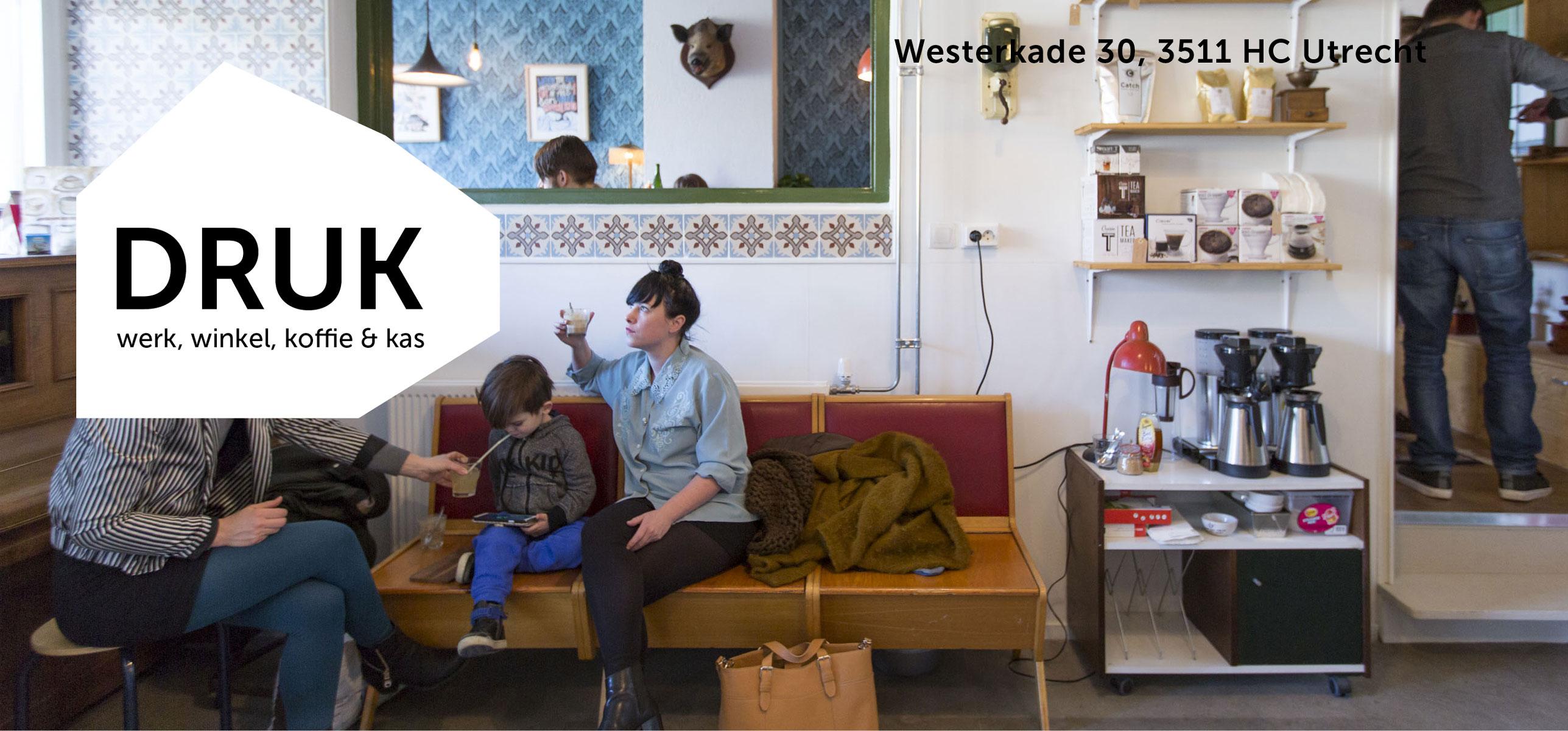 Creatieve broedplaats Druk in Utrecht